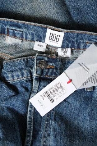 Мъжки дънки BDG, Размер S, Цвят Син, Памук, Цена 18,33лв.