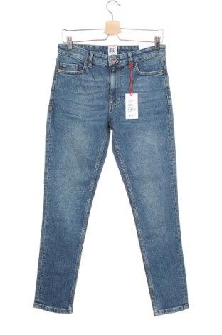 Blugi de bărbați BDG, Mărime S, Culoare Albastru, 99% bumbac, 1% elastan, Preț 71,65 Lei