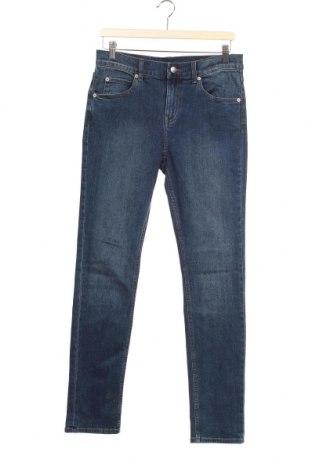 Мъжки дънки Cheap Monday, Размер M, Цвят Син, 76% памук, 13% вискоза, 10% полиестер, 1% еластан, Цена 23,52лв.