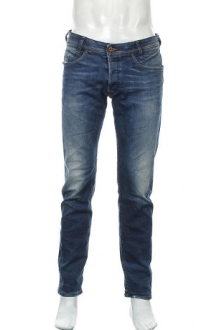Pánské džíny  Diesel, Velikost L, Barva Modrá, 92% bavlna, 8% polyester, 2% elastan, Cena  1030,00Kč