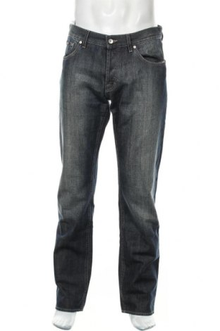 Pánské džíny  Hugo Boss, Velikost L, Barva Modrá, Bavlna, Cena  1463,00Kč
