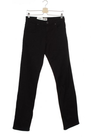 Мъжки дънки Wrangler, Размер S, Цвят Черен, 98% памук, 2% еластан, Цена 34,27лв.