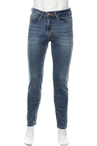 Pánské džíny  Zara, Velikost S, Barva Modrá, 99% bavlna, 1% elastan, Cena  565,00Kč