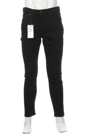 Pánské džíny  Zara, Velikost XL, Barva Černá, 99% bavlna, 1% elastan, Cena  797,00Kč