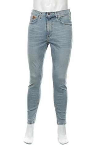Pánské džíny  Zara, Velikost M, Barva Modrá, 92% bavlna, 5% polyester, 3% elastan, Cena  565,00Kč