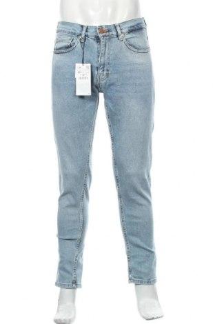 Pánské džíny  Zara, Velikost M, Barva Modrá, 99% bavlna, 1% elastan, Cena  652,00Kč