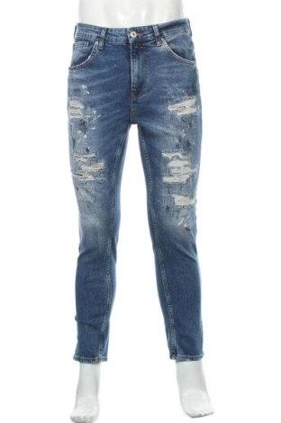 Pánské džíny  Zara, Velikost M, Barva Modrá, Cena  710,00Kč