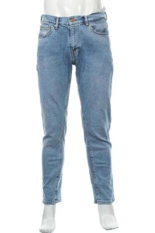 Pánské džíny  Zara, Velikost L, Barva Modrá, 99% bavlna, 1% elastan, Cena  710,00Kč