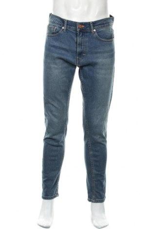 Pánské džíny  Zara, Velikost M, Barva Modrá, 99% bavlna, 1% elastan, Cena  710,00Kč