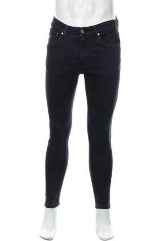 Pánské džíny  Zara Man, Velikost M, Barva Modrá, 94% bavlna, 6% elastan, Cena  652,00Kč