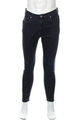 Pánské džíny  Zara Man, Velikost L, Barva Modrá, 94% bavlna, 6% elastan, Cena  565,00Kč