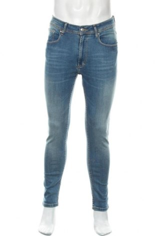 Pánské džíny  Zara Man, Velikost L, Barva Modrá, 98% bavlna, 2% elastan, Cena  797,00Kč