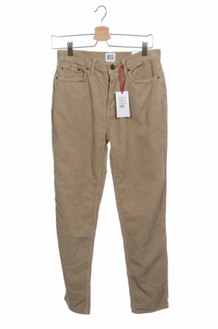 Pantaloni raiați de bărbați BDG, Mărime XS, Culoare Bej, Bumbac, Preț 68,39 Lei