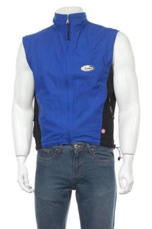 Pánská vesta , Velikost S, Barva Modrá, 78% polyester, 17% polyurethane, 5% jiné tkaniva , Cena  424,00Kč