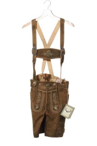 Мъжки гащеризон Stockerpoint, Размер S, Цвят Кафяв, Естествена кожа, Цена 61,04лв.