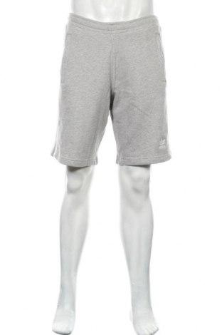 Pantaloni scurți de bărbați Adidas Originals, Mărime M, Culoare Gri, Bumbac, Preț 145,56 Lei