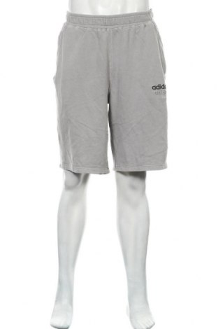 Pantaloni scurți de bărbați Adidas Originals, Mărime XL, Culoare Gri, Bumbac, Preț 170,23 Lei
