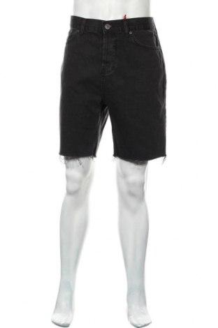 Мъжки къс панталон BDG, Размер L, Цвят Черен, Памук, Цена 33,12лв.