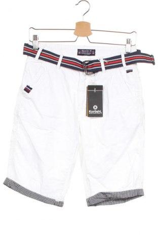 Ανδρικό κοντό παντελόνι Koroshi, Μέγεθος XS, Χρώμα Λευκό, Βαμβάκι, Τιμή 20,10€