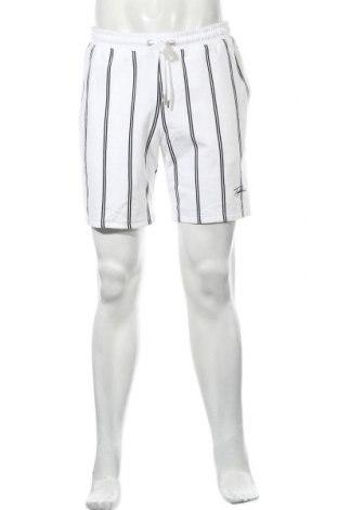 Мъжки къс панталон Topman, Размер M, Цвят Бял, Памук, Цена 31,85лв.