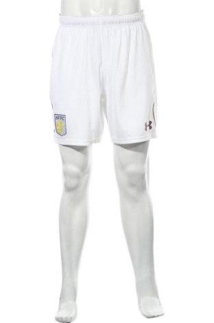 Pantaloni scurți de bărbați Under Armour, Mărime L, Culoare Alb, Poliester, Preț 116,94 Lei