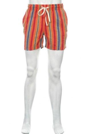 Мъжки къс панталон Urban Outfitters, Размер S, Цвят Многоцветен, Памук, Цена 5,35лв.