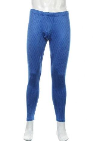 Pánské legíny  Crane, Velikost L, Barva Modrá, 90% polyester, 10% elastan, Cena  271,00Kč
