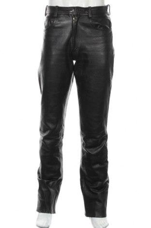Pánské kožené kalhoty , Velikost M, Barva Černá, Pravá kůže, Cena  1030,00Kč