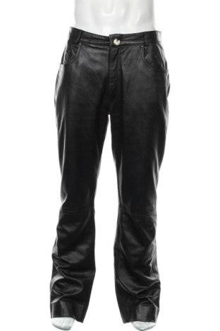 Pánské kožené kalhoty , Velikost L, Barva Černá, Pravá kůže, Cena  894,00Kč
