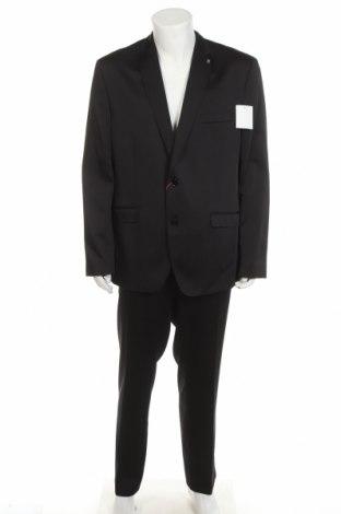 Costum de bărbați Bruno Banani, Mărime XXL, Culoare Negru, 84% poliester, 14% viscoză, 2% elastan, Preț 486,68 Lei