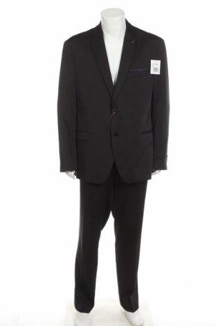 Costum de bărbați Bruno Banani, Mărime XXL, Culoare Negru, 85% poliester, 13% viscoză, 2% elastan, Preț 486,68 Lei