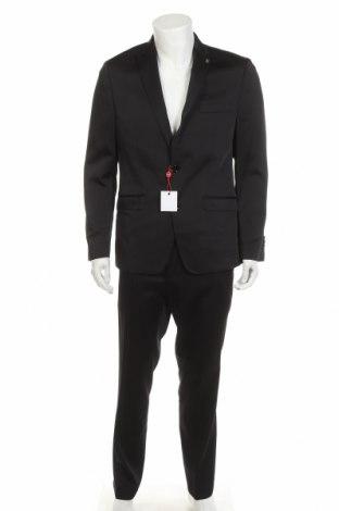 Pánský oblek  Bruno Banani, Velikost L, Barva Černá, 84% polyester, 14% viskóza, 2% elastan, Cena  1677,00Kč
