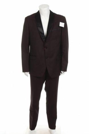 Costum de bărbați Bruno Banani, Mărime XL, Culoare Roșu, 83% poliester, 17% viscoză, Preț 486,68 Lei
