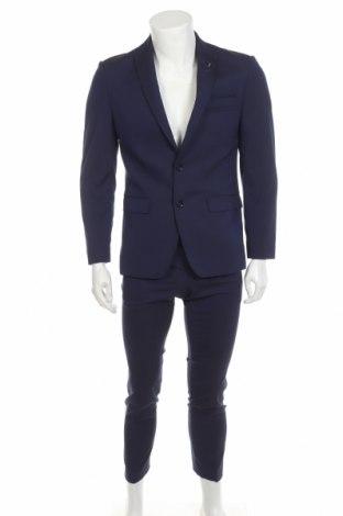 Costum de bărbați Bruno Banani, Mărime S, Culoare Albastru, 69% poliester, 29% 2% elastan, Preț 486,68 Lei