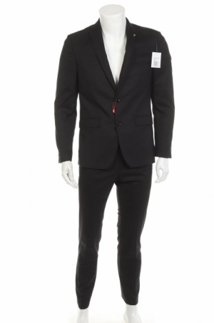Costum de bărbați Bruno Banani, Mărime M, Culoare Negru, 69% poliester, 29% 2% elastan, Preț 486,68 Lei