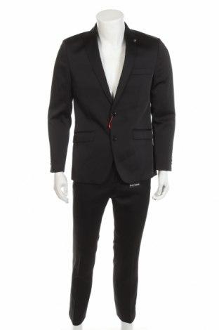 Costum de bărbați Bruno Banani, Mărime M, Culoare Negru, 84% poliester, 14% viscoză, 2% elastan, Preț 486,68 Lei