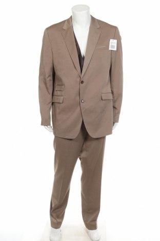 Costum de bărbați Class International, Mărime XL, Culoare Bej, 83% poliester, 17% viscoză, Preț 259,77 Lei