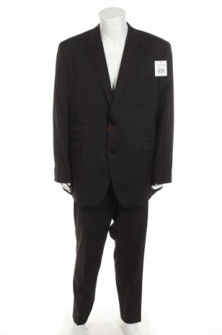 Costum de bărbați Class International, Mărime 3XL, Culoare Negru, Poliester, viscoză, elastan, Preț 287,67 Lei