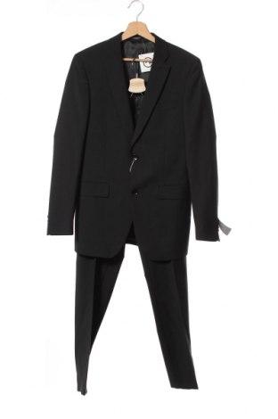 Costum de bărbați Esprit, Mărime S, Culoare Negru, 52% poliester, 44% lână, 4% elastan, Preț 577,14 Lei