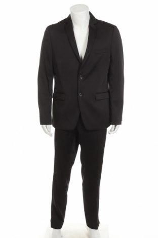 Мъжки костюм Thomas Goodwin, Размер XL, Цвят Черен, 85% полиестер, 13% вискоза, 2% еластан, Цена 72,67лв.