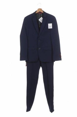 Costum de bărbați Thomas Goodwin, Mărime M, Culoare Albastru, 85% poliester, 13% viscoză, 2% elastan, Preț 305,76 Lei