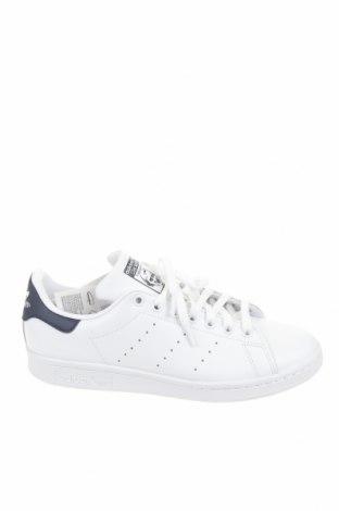 Мъжки обувки Adidas & Stan Smith, Размер 40, Цвят Бял, Естествена кожа, еко кожа, Цена 71,60лв.