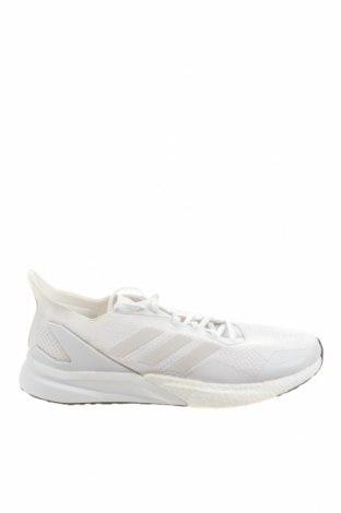 Ανδρικά παπούτσια Adidas, Μέγεθος 46, Χρώμα Λευκό, Κλωστοϋφαντουργικά προϊόντα, πολυουρεθάνης, Τιμή 41,81€