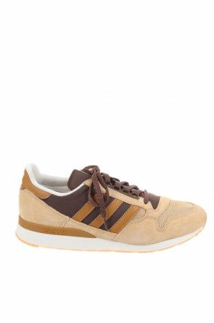 Мъжки обувки Adidas Originals, Размер 45, Цвят Бежов, Естествен велур, текстил, Цена 134,25лв.