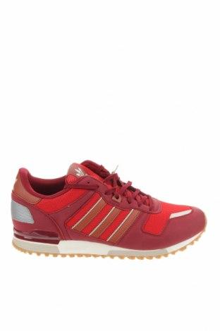 Ανδρικά παπούτσια Adidas Originals, Μέγεθος 46, Χρώμα Κόκκινο, Δερματίνη, κλωστοϋφαντουργικά προϊόντα, Τιμή 39,20€