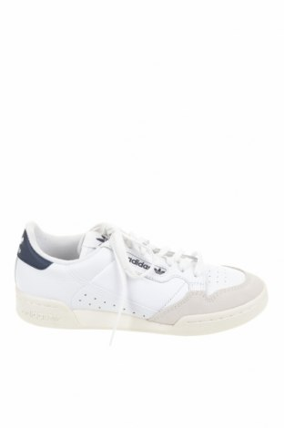 Ανδρικά παπούτσια Adidas Originals, Μέγεθος 40, Χρώμα Λευκό, Γνήσιο δέρμα, δερματίνη, Τιμή 41,52€