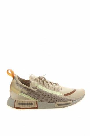 Мъжки обувки Adidas Originals, Размер 45, Цвят Бежов, Текстил, еко кожа, Цена 130,67лв.