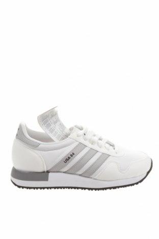 Încălțăminte bărbătească Adidas Originals, Mărime 37, Culoare Alb, Textil, piele ecologică, Preț 264,97 Lei