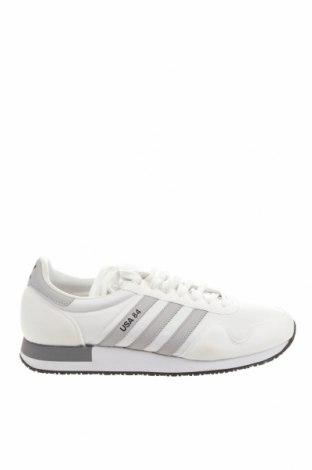 Ανδρικά παπούτσια Adidas Originals, Μέγεθος 46, Χρώμα Λευκό, Κλωστοϋφαντουργικά προϊόντα, δερματίνη, Τιμή 39,20€