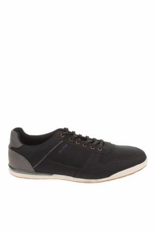 Ανδρικά παπούτσια Aldo, Μέγεθος 45, Χρώμα Μαύρο, Δερματίνη, Τιμή 28,20€